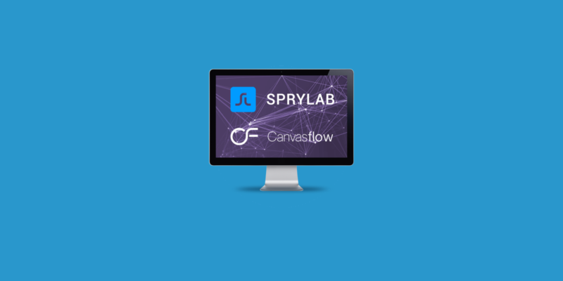 sprylab purpleds and canvasflow